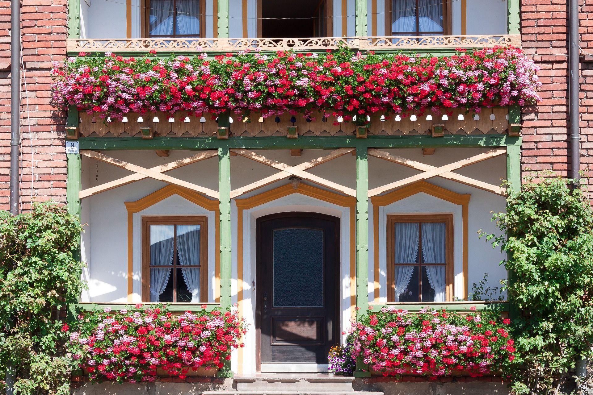 Balcone in inverno