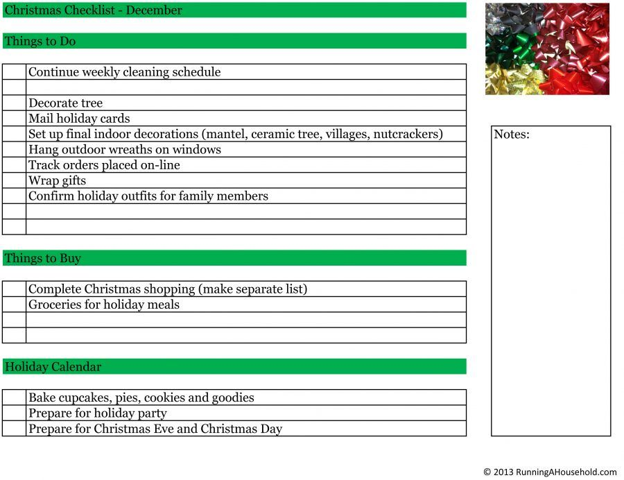 Christmas Checklists.xlsx