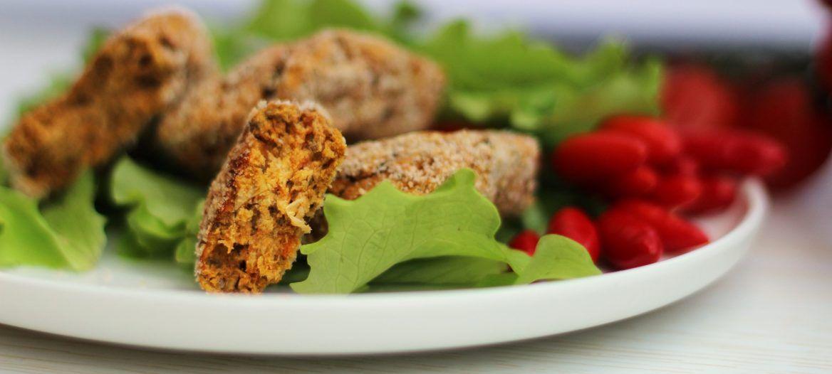 Crocchette vegan ceci e carote