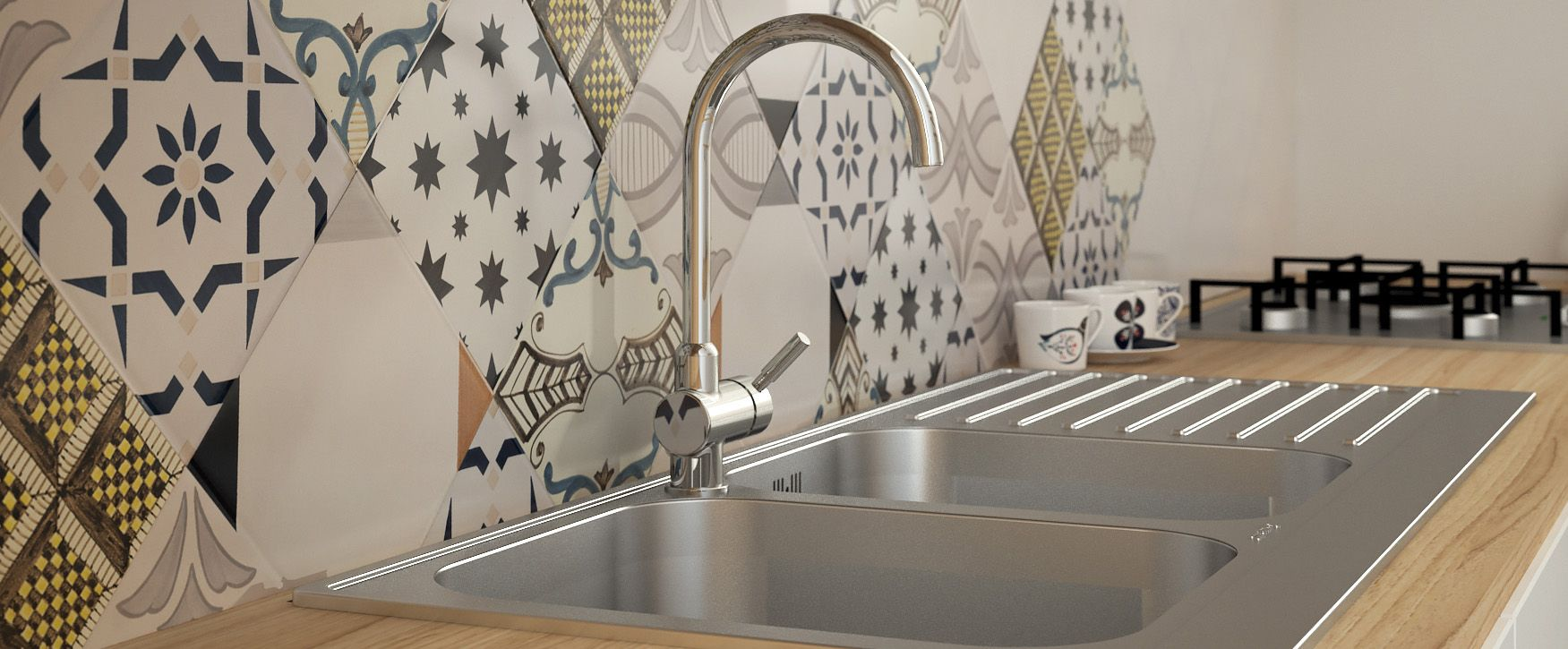 Paraschizzi originali per un nuovo look al piano cucina