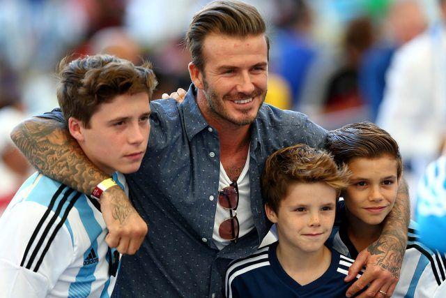 Brooklyn Beckham, figlio di David e Victoria Beckham