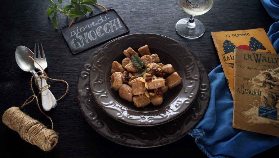 Gnocchi di patate e castagne