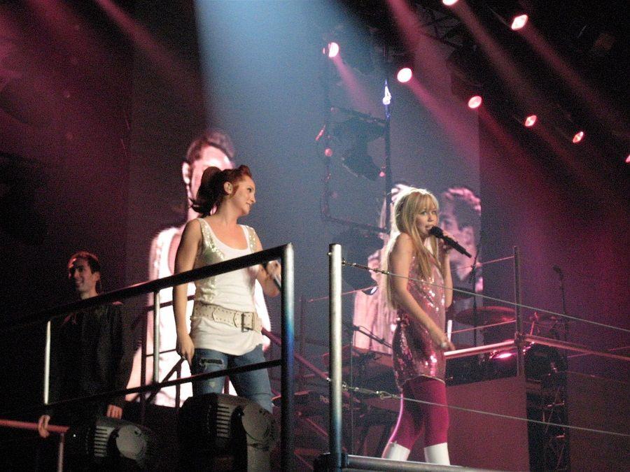 Qui Miley Cyrus era ancora Hannah Montana