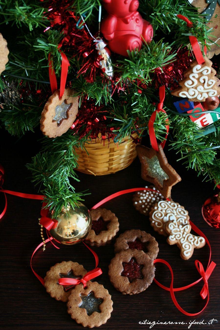 Biscotti vetrati per albero di natale