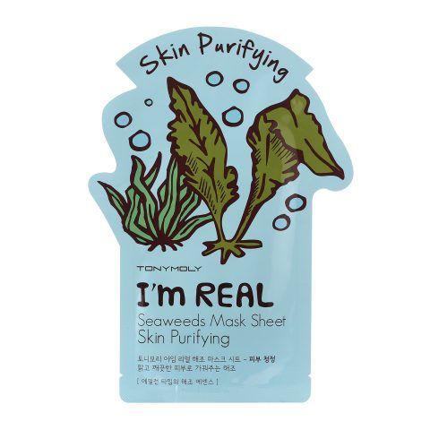 Seaweed Mask Sheet di TonyMoly depura la pelle.