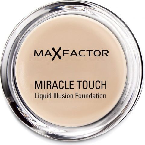Max Factor Miracle Touch Liquid Illusion uniforma l'incarnato alla perfezione.