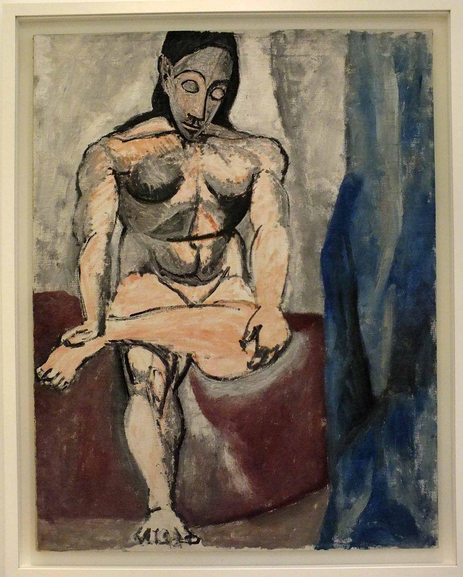 Nudo Seduto Pablo Picasso