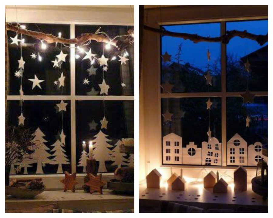 Come rendere magiche le tue finestre durante le feste di - Decorare finestre per natale ...