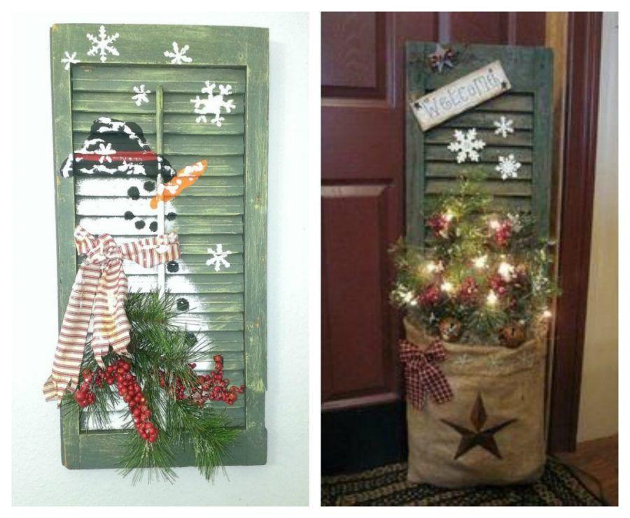 Come rendere magiche le tue finestre durante le feste di natale bigodino - Addobbi natalizi per la porta ...