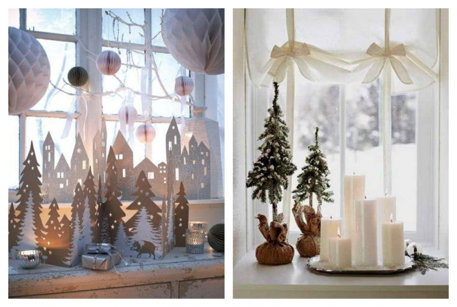 Come rendere magiche le tue finestre durante le feste di - Addobbare le finestre per natale ...