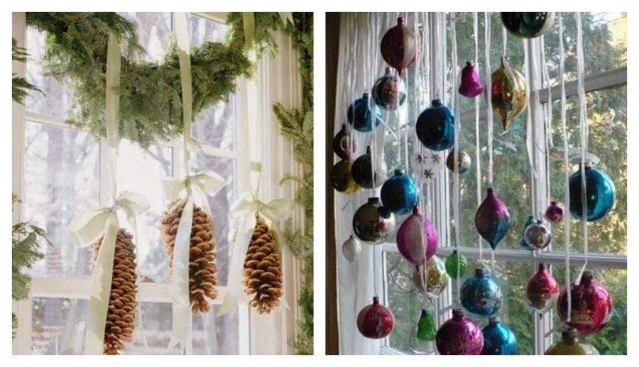 Come rendere magiche le tue finestre durante le feste di - Decorare le finestre per natale ...