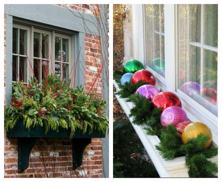 Come rendere magiche le tue finestre durante le feste di - Addobbi natalizi per esterno ...