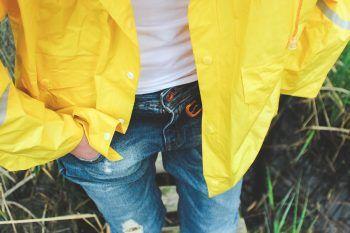 Abbigliamento da pioggia. Idee per essere carine quando fuori piove