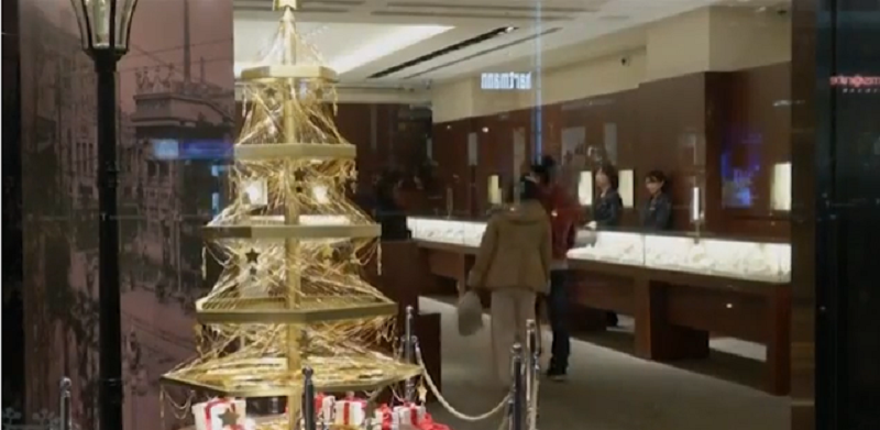L'albero di Natale da due milioni di dollari