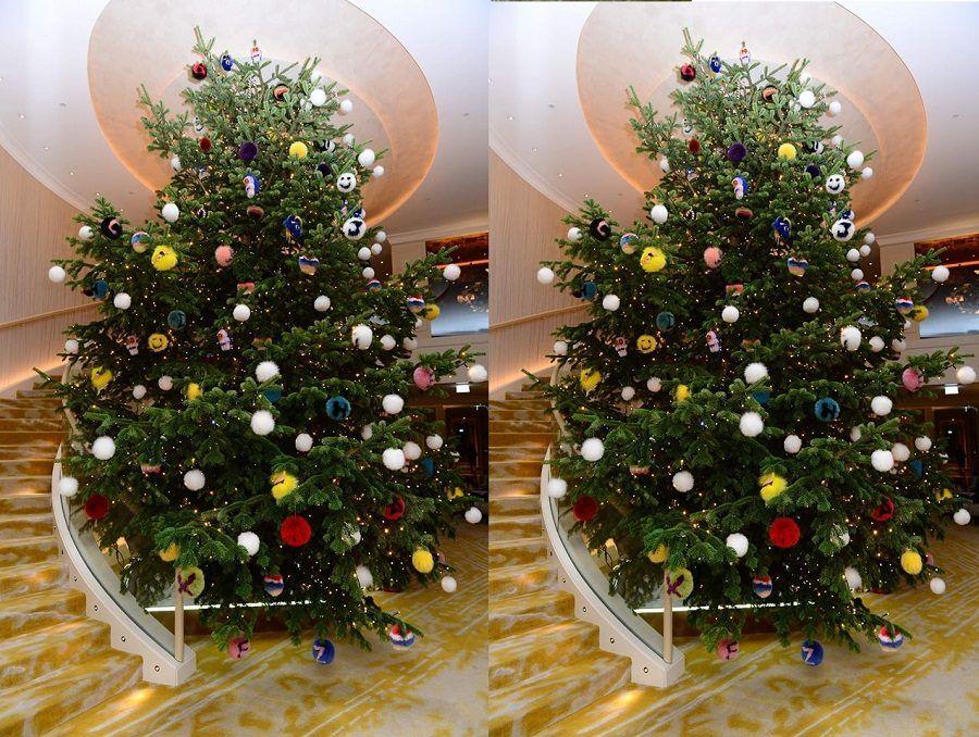 L'albero di Natale di Fendi