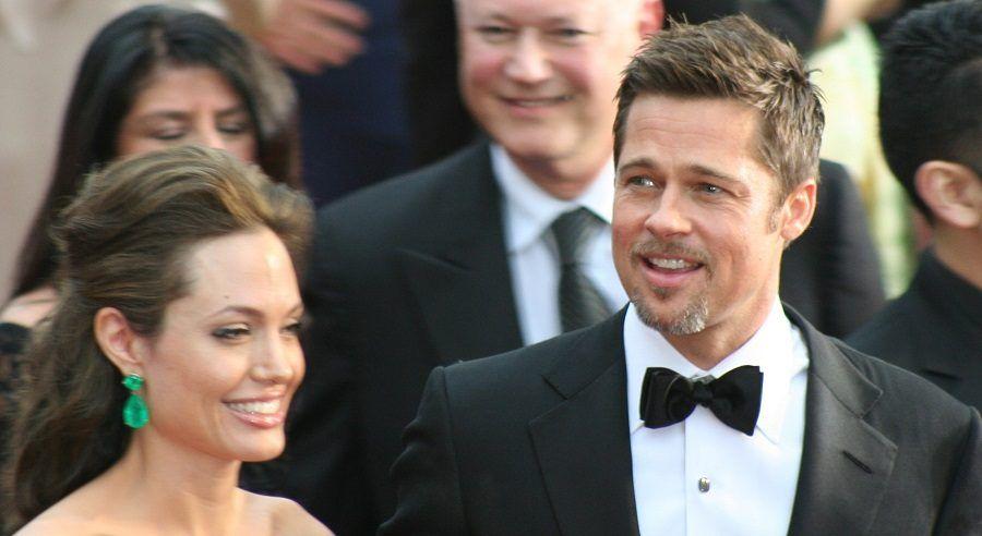 Angelina Jolie e Brad Pitt quando erano ancora felici