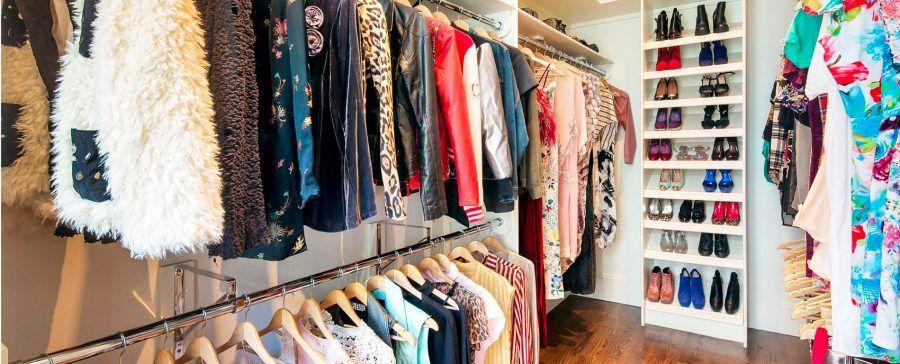 ...il sogno di ogni donna è avere un armadio grande quanto un appartamento...