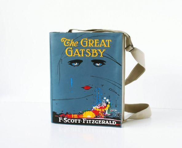Borse a forma di libri, Il grande Gatsby