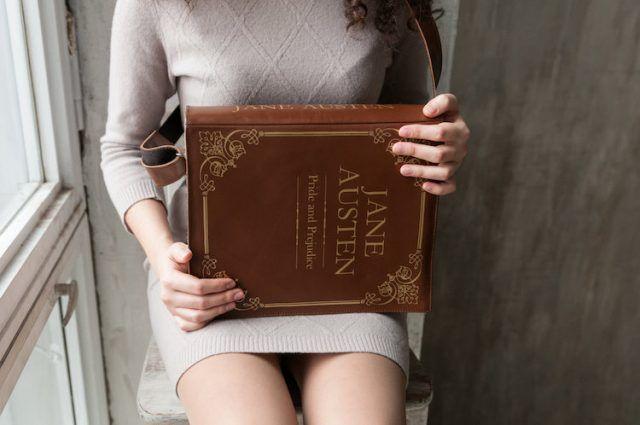 Borse a forma di libri, Jane Austen