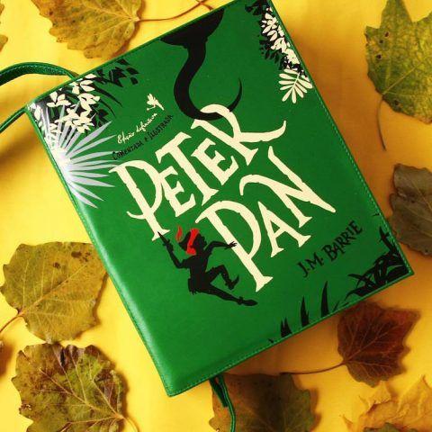 Borse a forma di libri, Peter Pan