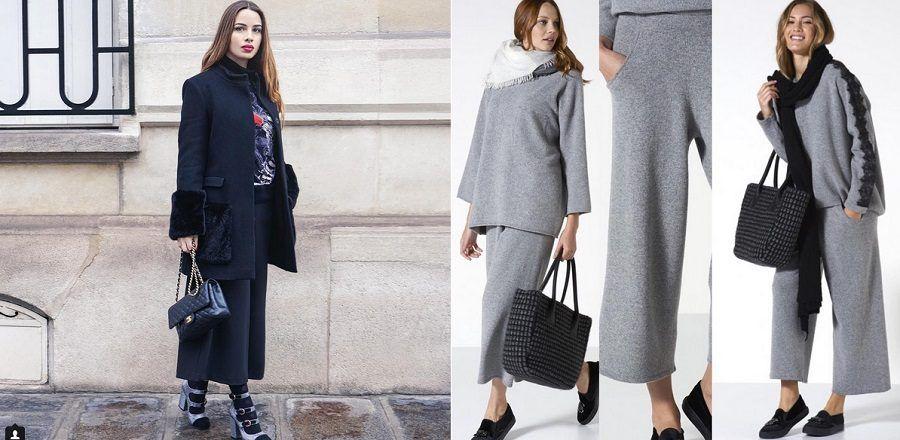 I pantaloni a culotte