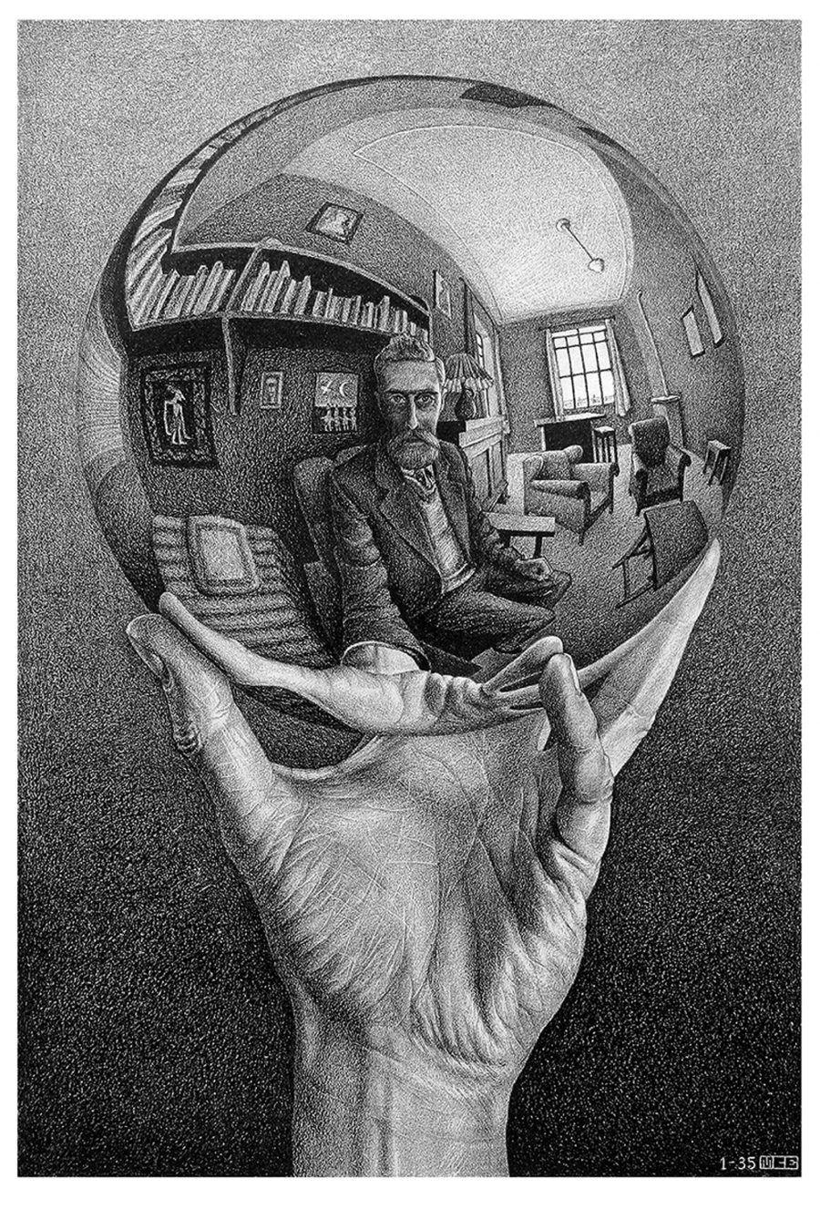 Mano-con-sfera-riflettente Escher