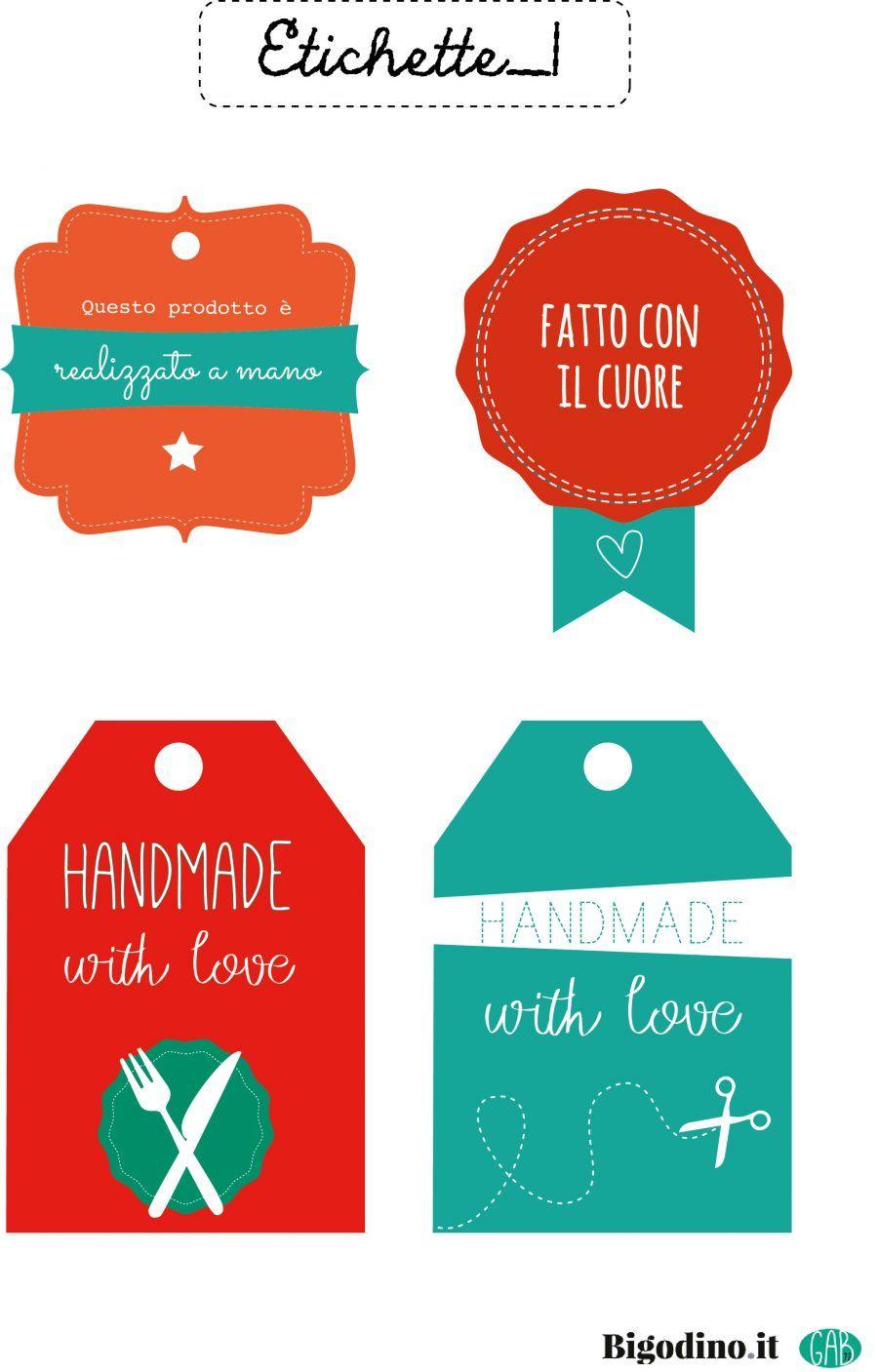 Etichette Natalizie Da Stampare etichette per pacchetti regalo da scaricare | bigodino