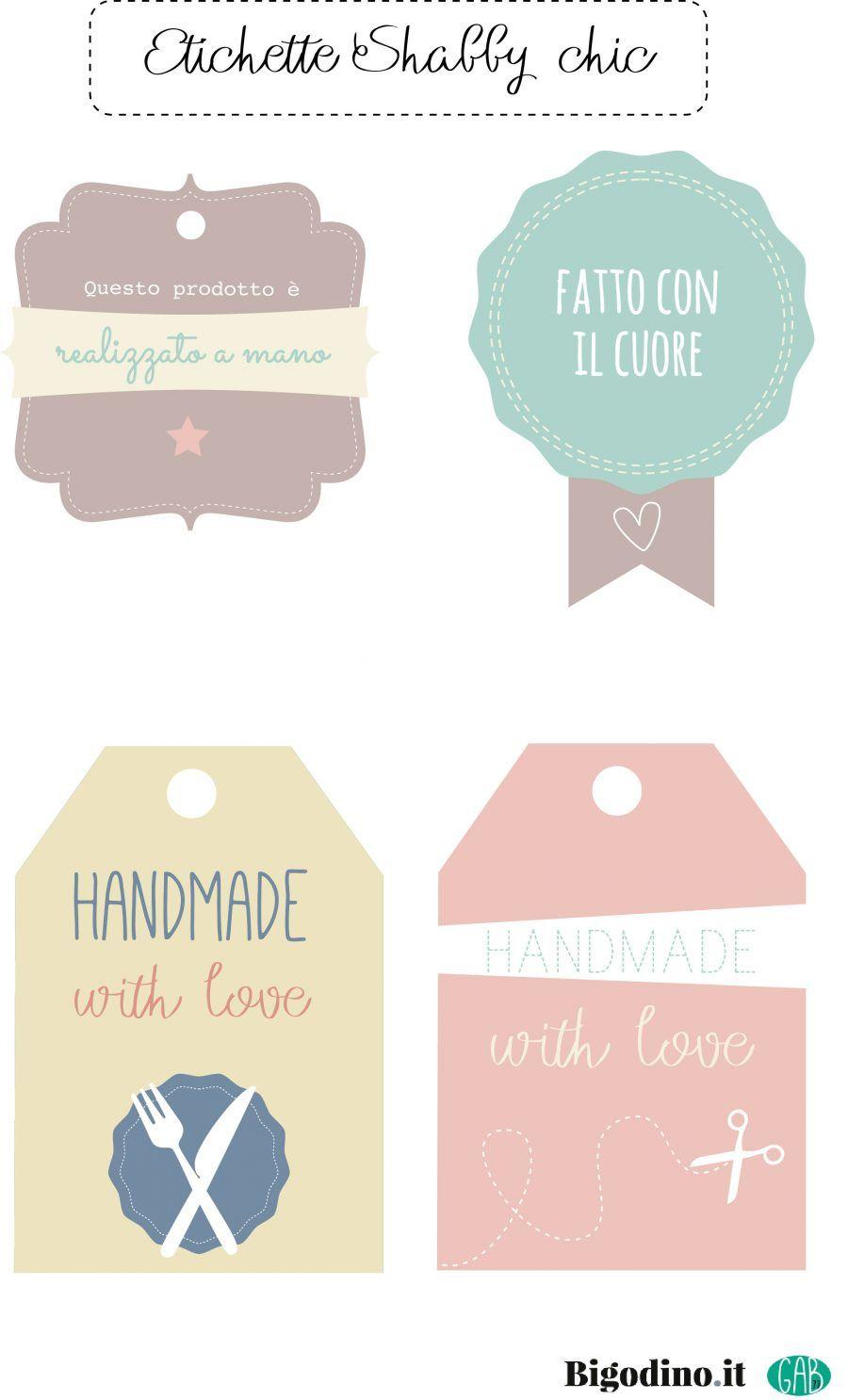 Eccezionale Etichette per pacchetti regalo da scaricare | Bigodino MH55