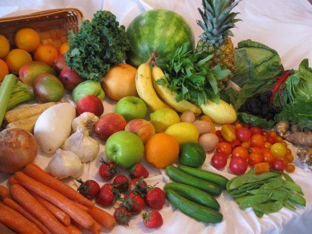 Giorno 2: verdura