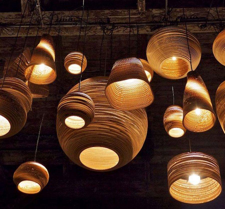 Lampadari di carta: leggerezza e bellezza luminosa | Bigodino