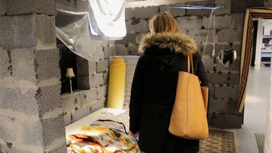 Riproduzione di una casa a Damasco