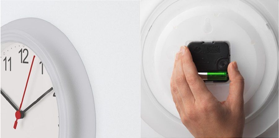 L'orologio Ikea Rusch