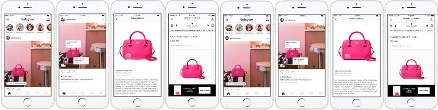 I shoppable tag su Instagram