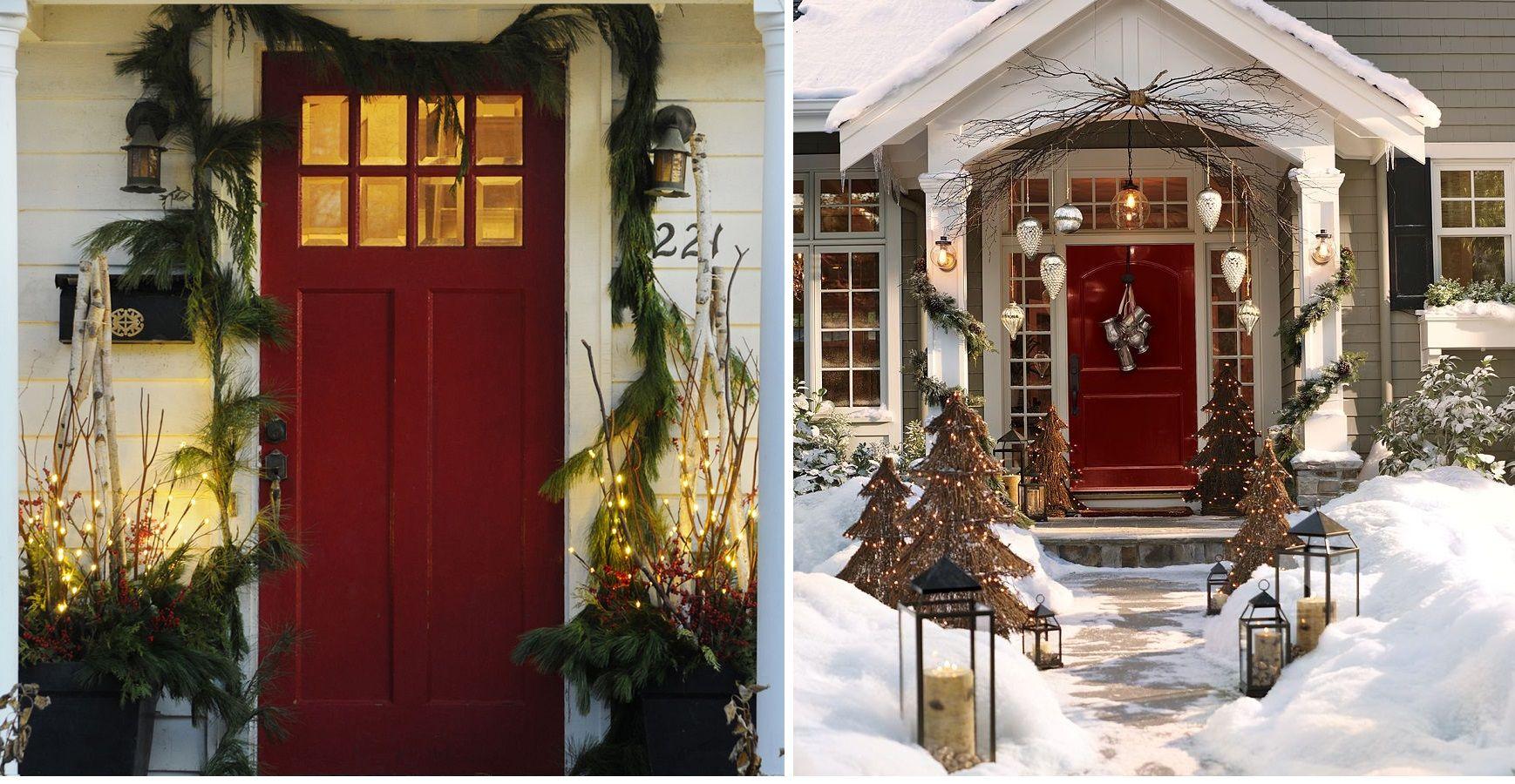 Come decorare la porta d 39 ingresso di casa in base alla for Arredamento natalizio casa