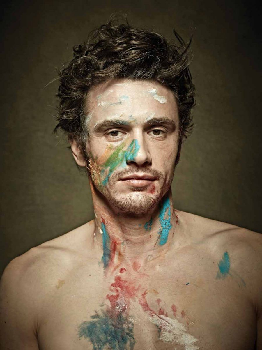 James Franco pittore