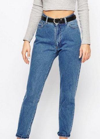 Chorus - Mom jeans a lavaggio chiaro