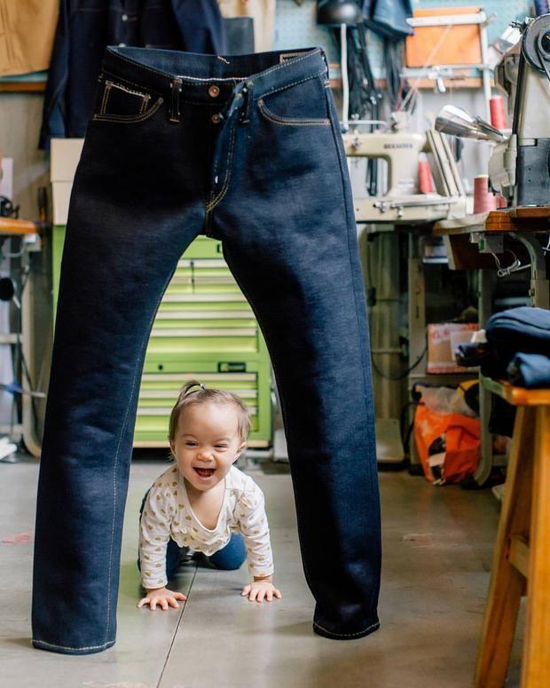 I jeans stanno in piedi da soli