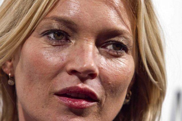 Il tracollo di Kate Moss.