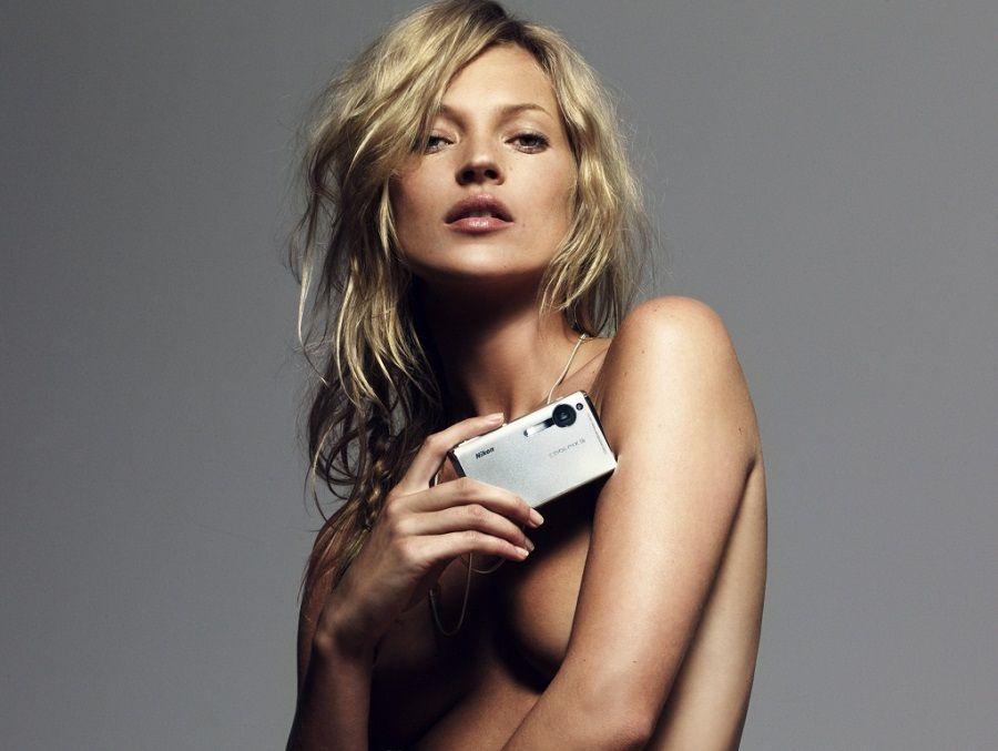 Kate Moss, protettrice di chi ha il seno piccolo