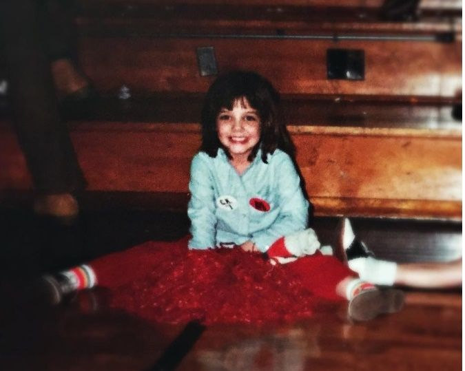 Katie Holmes a 6 anni