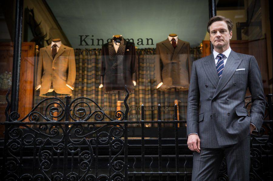Colin Firth nel film Kingsman - The Secret Service