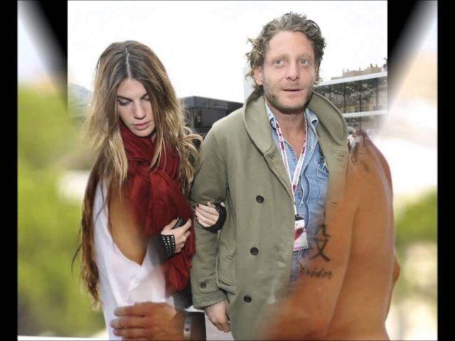Lapo Elkann con Bianca Brandolini d'Adda.