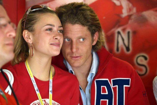Lapo Elkann e Martina Stella.