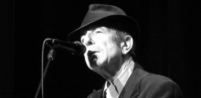 Leonard Cohen, cantante