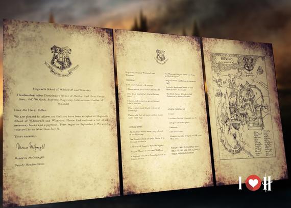 Lettera da Hogwarts