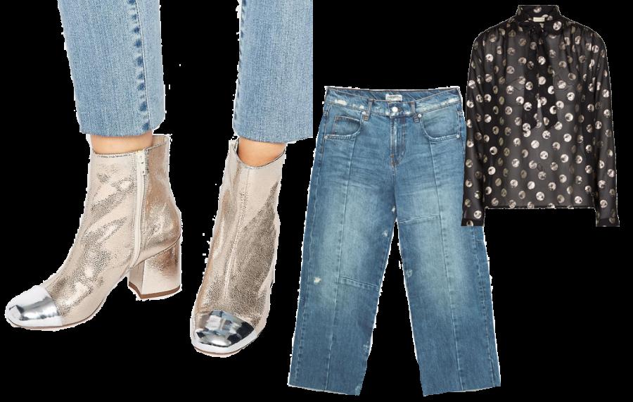 Stivali Asos 80€ / Jeans Zara 50€ / Camicetta Numph