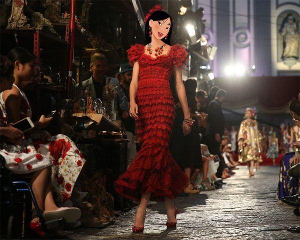 Una sfilata per Mulan!