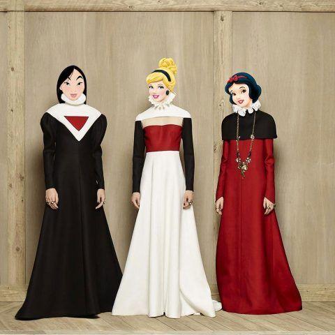 Mulan, Cenerentola e Biancaneve, che trio!