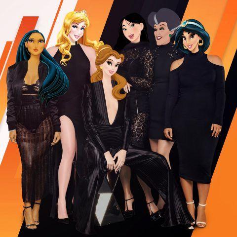 Principesse e cattive insieme!