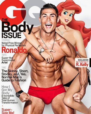 Hai capito Ariel con Ronaldo?